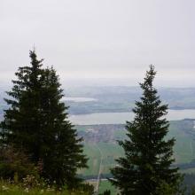 Баварская долина в тумане