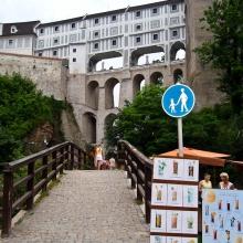 Вид на Пластовый мост