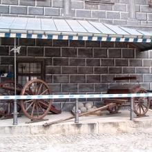 Первый двор замка