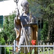 Памятник св.Вольфгангу, основателю города