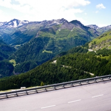 За перевалом - совершенно другая погода. И красота!!!