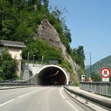 Один из многочисленных тоннелей