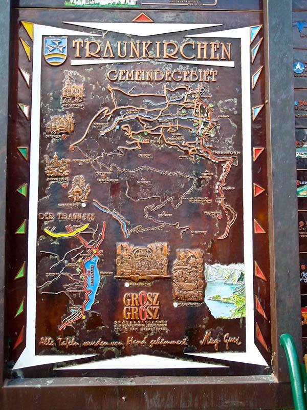 Карта Траункирхен, тоже handmade