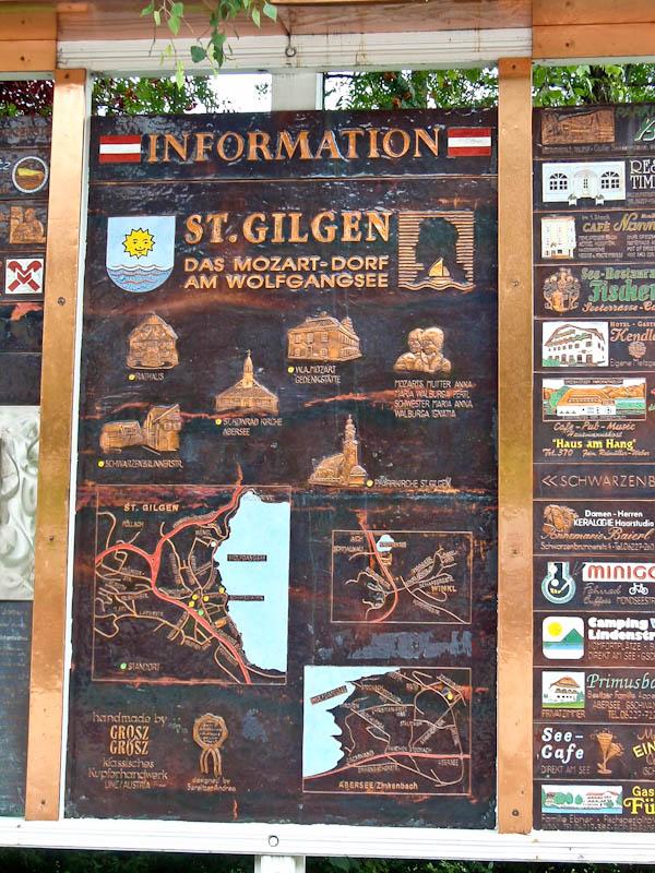 Схема Санкт-Гильгена, ручная работа, чеканка.